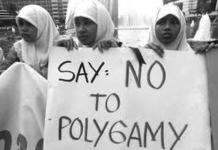 say no to polygami